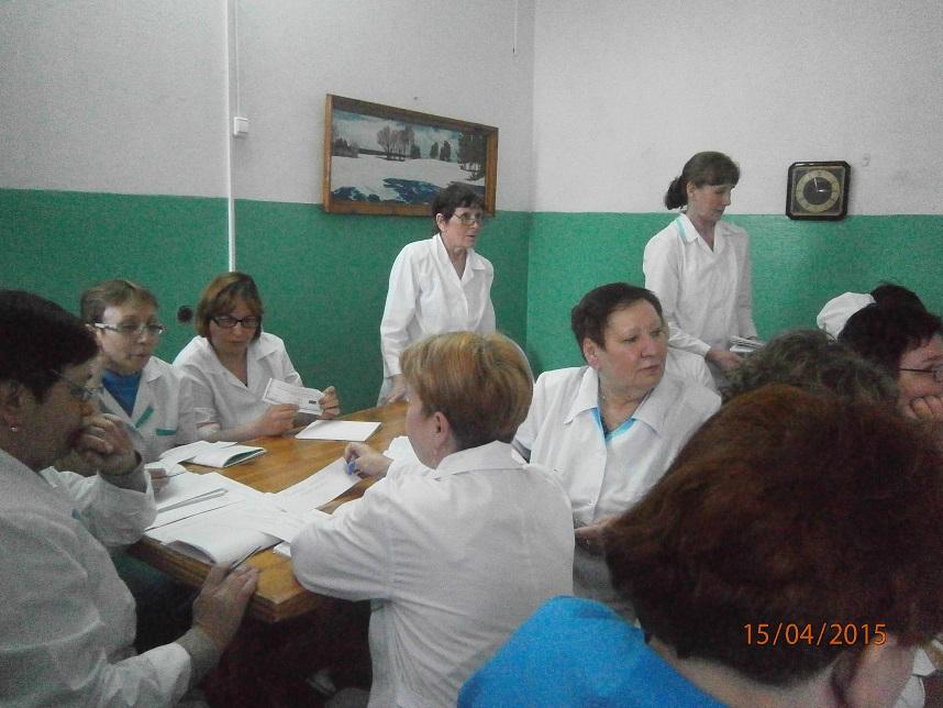 учебные занятия со средним и младшим медицинским персоналом